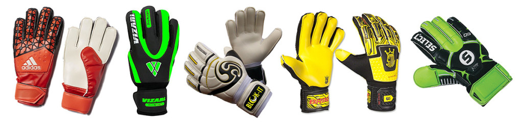 Youth Soccer Goalie Gloves With Finger Savers