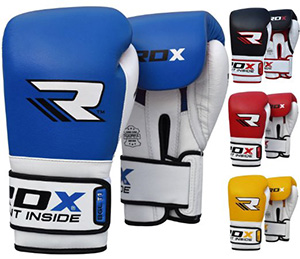 Rdx Cow Hide Leather Boxing Gloves